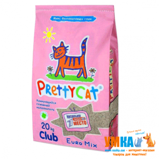 Наполнитель Pretty Cat Euro Mix™ CLUB MegaPack, 20 кг
