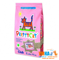 Наполнитель Pretty Cat Euro Mix™ CLUB MegaPack, 10 кг