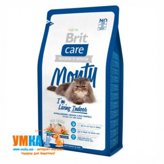 Brit Care Cat Monty indoor для кошек, живущих в помещении, 7 кг